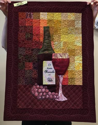 """June 2016 Guild Meeting - """"Pantone Color of the Year"""" Challenge"""