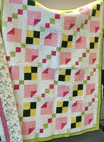 """June 2016 Guild Meeting - """"Mystery Quilt"""" Challenge"""